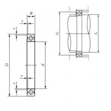 90 mm x 106 mm x 8 mm  IKO CRBS 908 A UU Rodamientos Axiales De Rodillos