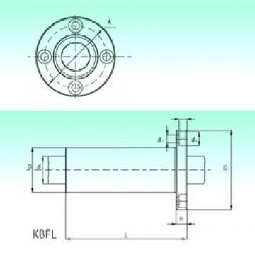 NBS KBFL 12-PP Cojinetes Lineales