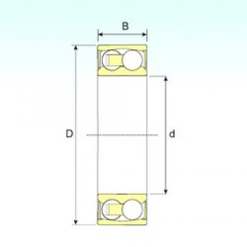 30 mm x 62 mm x 20 mm  ISB 2206-2RSTN9 Rodamientos De Bolas Autoalineables