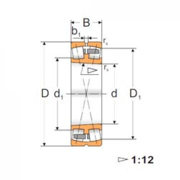140 mm x 250 mm x 68 mm  FBJ 22228K Rodamientos De Rodillos Esféricos