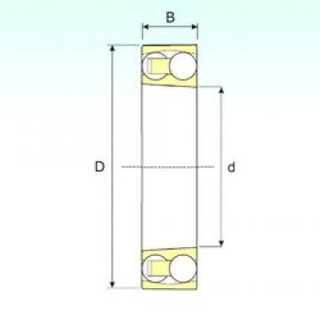 60 mm x 130 mm x 46 mm  ISB 2312 K Rodamientos De Bolas Autoalineables