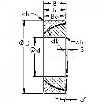 AST GAC45T Rodamientos Deslizantes