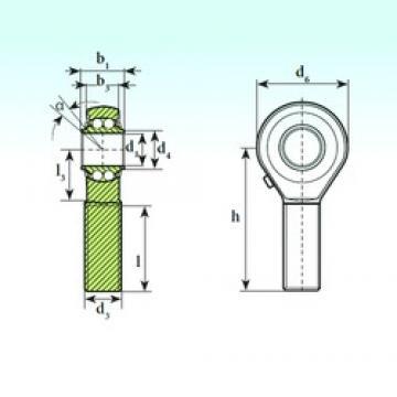 ISB TSM 12 BB Rodamientos De Bolas Autoalineables