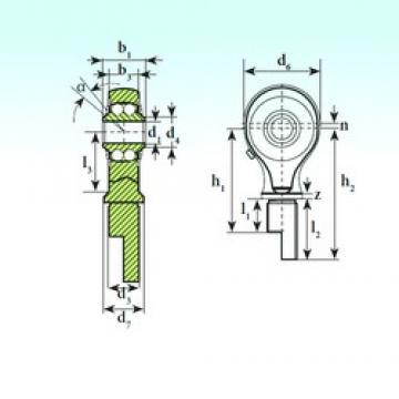 ISB TSM 08-01 BB-E Rodamientos De Bolas Autoalineables