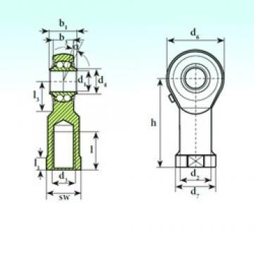 ISB TSF 10 BB Rodamientos De Bolas Autoalineables