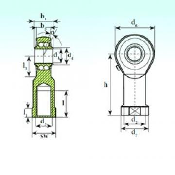 ISB TSF 50 BB Rodamientos De Bolas Autoalineables