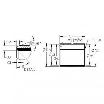 AST AST11 6050 Rodamientos Deslizantes