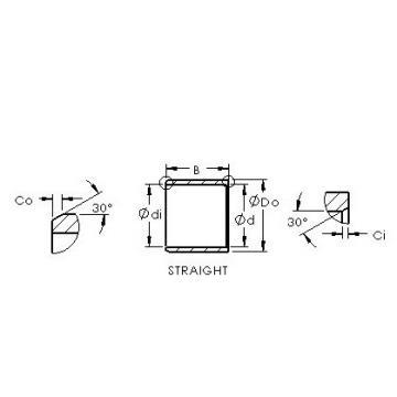 AST ASTEPB 1012-07 Rodamientos Deslizantes