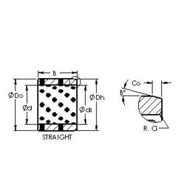 AST AST650 455550 Rodamientos Deslizantes