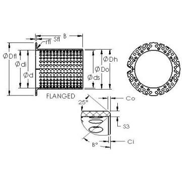 AST ASTT90 F6050 Rodamientos Deslizantes
