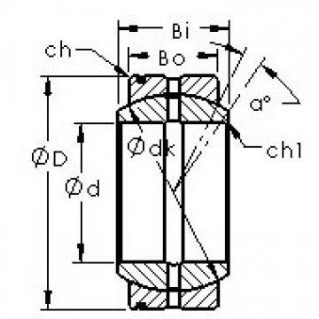 AST GE22XS/K Rodamientos Deslizantes