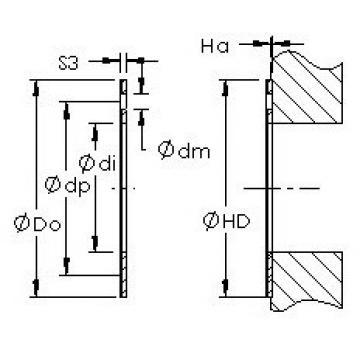 AST AST20 WC12 Rodamientos Deslizantes