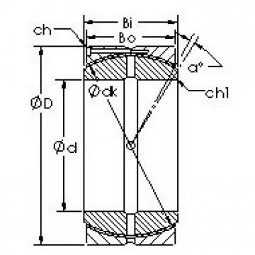 AST GEC560HCS Rodamientos Deslizantes