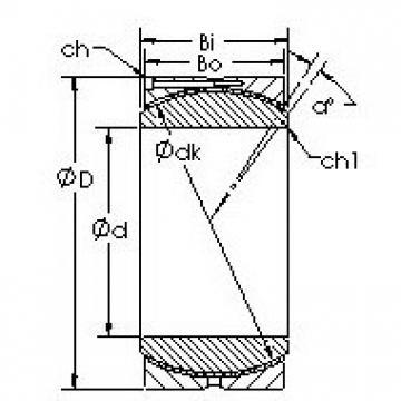 AST GEH630HC Rodamientos Deslizantes