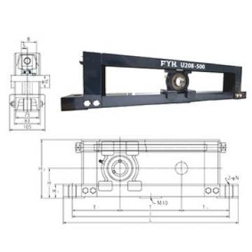 FYH UCTU210-700 Unidad De Rodamiento