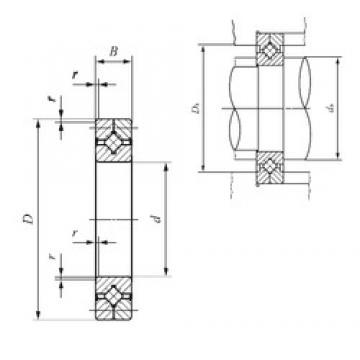 70 mm x 100 mm x 13 mm  IKO CRB 7013 UU Rodamientos Axiales De Rodillos