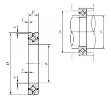 40 mm x 65 mm x 10 mm  IKO CRBH 4010 A UU Rodamientos Axiales De Rodillos