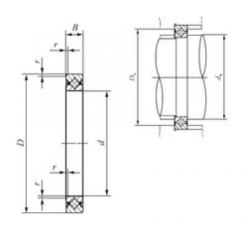 60 mm x 76 mm x 8 mm  IKO CRBS 608 Rodamientos Axiales De Rodillos