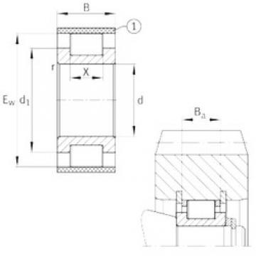 INA RSL183011-A Rodamientos De Rodillos