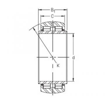 INA SL06 040 E Rodamientos De Rodillos