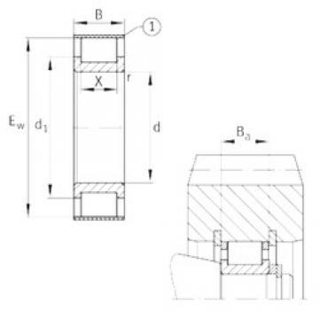 INA RSL182320-A Rodamientos De Rodillos