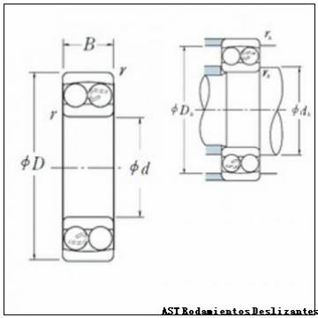 AST AST090 24080 Rodamientos Deslizantes