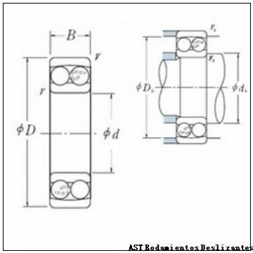 AST GEWZ19ES-2RS Rodamientos Deslizantes