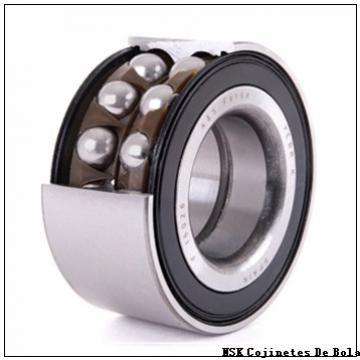 45 mm x 100 mm x 17 mm  NSK 52409 Cojinetes De Bola